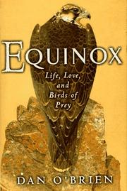 EQUINOX by Dan O'Brien
