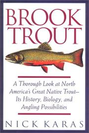 BROOK TROUT by Nick Karas