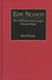 EPIC SEASON by David Kaiser