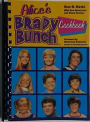 ALICE'S BRADY BUNCH COOKBOOK by Ann B. Davis