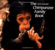 THE CHIMPANZEE FAMILY BOOK by Jane Goodall