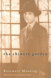 THE CHINESE GARDEN by Rosemary Manning
