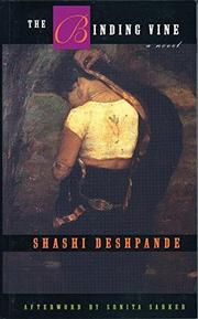 THE BINDING VINE by Shashi Deshpande