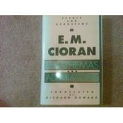 ANATHEMAS AND ADMIRATIONS by E.M. Cioran