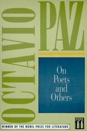 ON POETS AND OTHERS by Octavio Paz