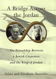 A BRIDGE ACROSS THE JORDAN by Adaia Shumsky