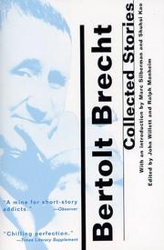 COLLECTED SHORT STORIES by Bertolt Brecht