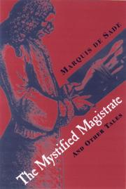THE MYSTIFIED MAGISTRATE by Marquis de Sade