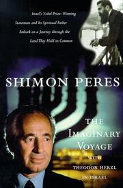 THE IMAGINARY VOYAGE by Shimon Peres
