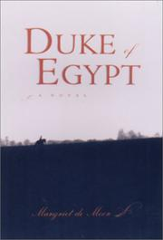 Cover art for DUKE OF EGYPT