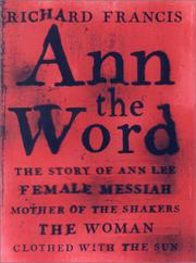 ANN THE WORD by Richard Francis