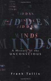 HIDDEN MINDS by Frank Tallis
