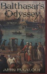 Cover art for BALTHASAR'S ODYSSEY