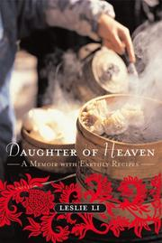 DAUGHTER OF HEAVEN by Leslie Li