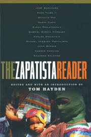 THE ZAPATISTA READER by Tom Hayden