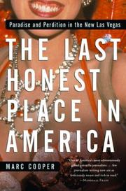 THE LAST HONEST PLACE IN AMERICA by Marc Cooper