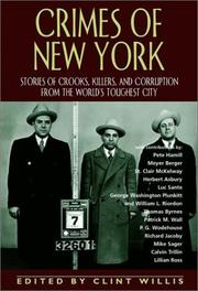 CRIMES OF NEW YORK by Clint Willis