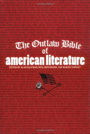 Cover art for THE OUTLAW BIBLE OF AMERICAN LITERATURE