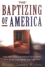 THE BAPTIZING OF AMERICA by Anita Brookner