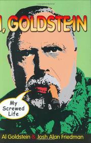 I, GOLDSTEIN by Al Goldstein