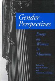 GENDER PERSPECTIVES by Jane R. Glaser