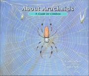 ABOUT ARACHNIDS by Cathryn Sill