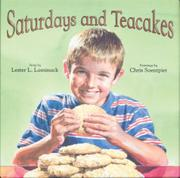SATURDAYS AND TEACAKES by Lester L. Laminack