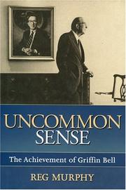 UNCOMMON SENSE by Reg Murphy