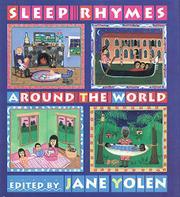 SLEEP RHYMES AROUND THE WORLD by Jane Yolen