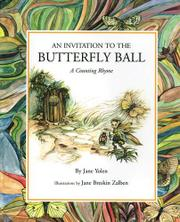 AN INVITATION TO THE BUTTERFLY BALL by Jane Breskin Zalben