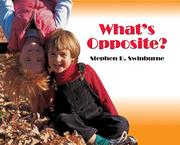 WHAT'S OPPOSITE? by Stephen R. Swinburne