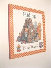 HIDING by Shirley Hughes