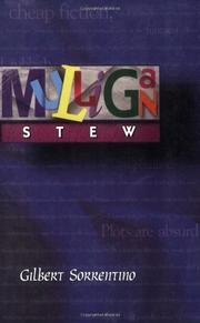 MULLIGAN STEW by Gilbert Sorrentino