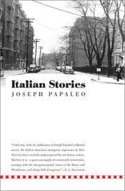 ITALIAN STORIES by Joseph Papaleo