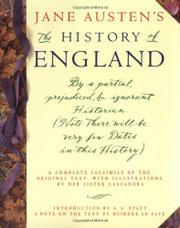 JANE AUSTEN'S THE HISTORY OF ENGLAND by Jane Austen