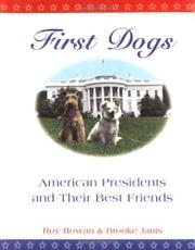 Cover art for FIRST DOGS