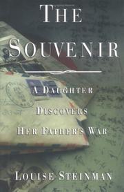 THE SOUVENIR by Louise Steinman