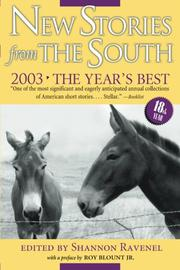Book Cover for NEW STORIES FROM THE SOUTH