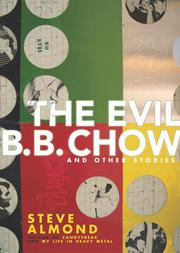 Cover art for THE EVIL B.B. CHOW