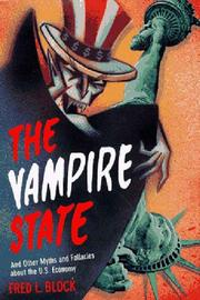 THE VAMPIRE STATE by Fred Block
