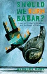 SHOULD WE BURN BABAR? by Herbert Kohl