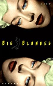 BIG BLONDES by Jean Echenoz