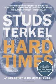 HARD TIMES by Studs Terkel