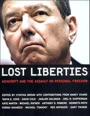 LOST LIBERTIES by Cynthia Brown