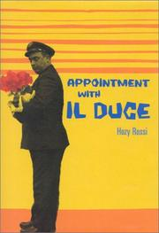 APPOINTMENT WITH IL DUCE by Hozy Rossi