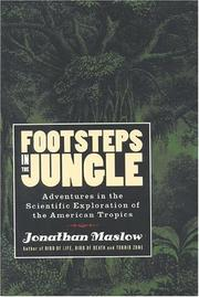 FOOTSTEPS IN THE JUNGLE by Jonathan Maslow