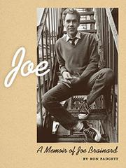 JOE by Ron Padgett