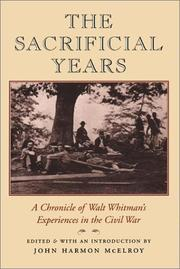 THE SACRIFICIAL YEARS by John Harmon McElroy