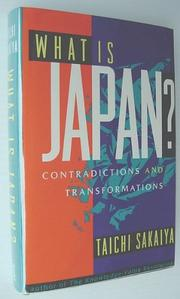 WHAT IS JAPAN? by Taichi Sakaiya