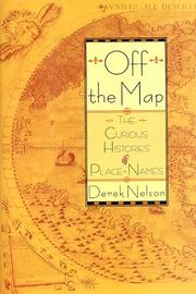 OFF THE MAP by Derek Nelson
